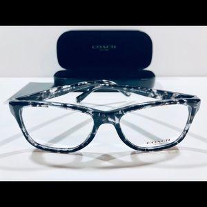 COACH Women's Eyeglasses Black Tortoise Frame New